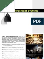 Sound Reinforcement System Final
