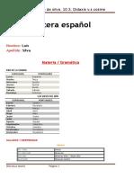 Cartera español