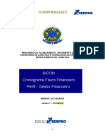Manual Sicon Cronograma Perfil Gestor Financeiro