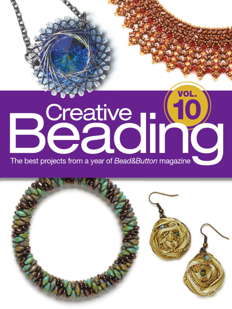 f11b9f5c4 Bead & Button Creative Beading Vol 10 | Yarn | Bead