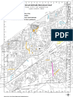 2017 Mentor  Road Repair Program Map