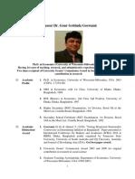 Cv (Long) Gour Gobinda Goswami