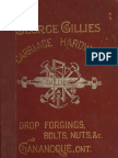 (1894) Illustrated Catalogue & Price List of Carriage Hardware, Drop Forgings, bolts, Nuts, etc.