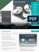 MASK Equalizer plugin for photoshop user manual
