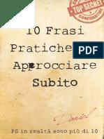Anteprima 10 Frasi Pronte Per Approcciare Subito Report Seduzione Pratica[1]