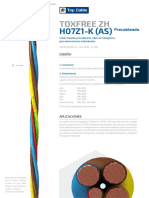 Topcable Toxfree Zh h07z1-k (as) Precableado Esp Specs