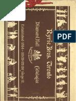 (1900) Diamond Hall Catalogue