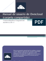 Manual de Usuario de Owncloud (Carpeta Compartida)