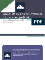Manual de Usuario de Owncloud (Carpeta Compartida)