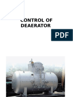 Control of Deaerator