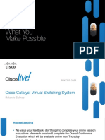 Cisco Catalyst Virtual Switching System BRKCRS-2468