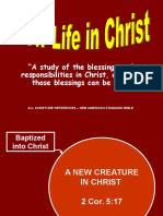 New Life in Christ - Lesson 4