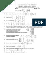 Algebra Lineal,Practico 2015