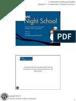 Night School 12 Session 5