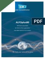 Siae Microelettronica Alfoplus 80-70-80ghz Ptp Link Brochure