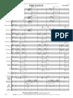 Fire Dance Score - David Shaffer