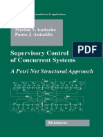 Supervisory Control of Concurrent Systems a Petri Net Structural Approach Systems Control Foundat