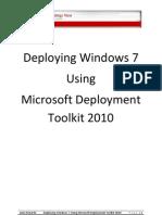 Deploying Windows 7 eBook
