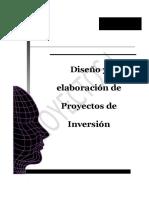 Diseño y Elaboracion de Proyectos de Inversion