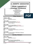 National Sheriffs' Association  2017 Winter Legislative & Technology Agenda