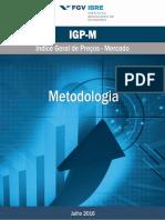 Metodologia Igp-m Jul16