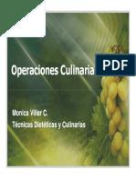 7. Operaciones Culinarias Preliminares