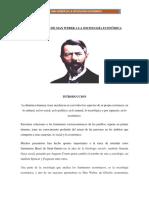 Max Weber Aporte a La Sociologia Economica