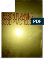Leson Planning Good Practicies