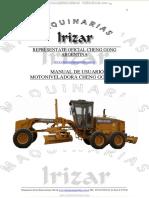 Manual Usuario Motoniveladoras Mg1320 Cheng Gong