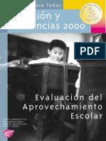 Educación Para Todos, Situación y Tendencias 2000