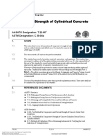 Astm C-39 Standard Test Method for Compressive Strength of Cylindrical Concrete Specimens