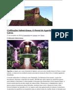 Civilizações Subterrâneas, O Portal de Agartha e a Pedra Da Gávea