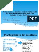 Diapositiva de Las Biomasas Rosana Rafael Luis