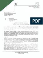 Nichols - Ambient Environment Monitoring Report