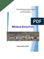 Modelo Educativo Unh 2016 - 3