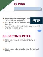 business plan model