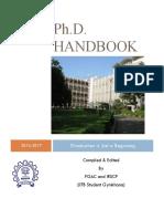 PhD Handbook 2016-17