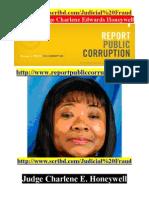 Report Public Corruption Crooked Judge Charlene E. Honeywell