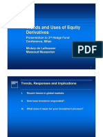 Equity Derivatives Trends