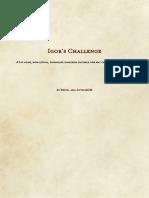 Igors Challenge (10689742)