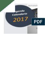 Agenda Calendario 2017 Manuel