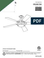 Kichler Ceiling Fan Manual