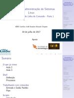 Aula04 - Introdução à Administração de Sistemas Linux
