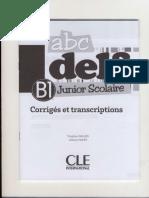 ABC Delf B 1 Corrigés