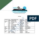 nzpca eventing championship 2017 timetable v 2  2