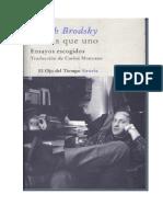 Joseph Brodsky-Menos que uno.pdf