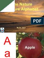 Nature Picture Alphabet