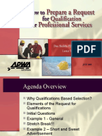 How to Prepare a RFQ 072605