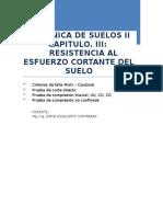 Cap. III Corte Directo - Mecanica de Suelos II