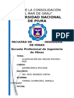 Clasificación Del Macizo Rocoso- RQD